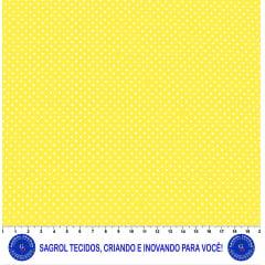 TECIDO TRICOLINE ESTAMPA POÁ ALFINETE 100% ALGODÃO COM 1,50 LG 5EE6906D6F2E9
