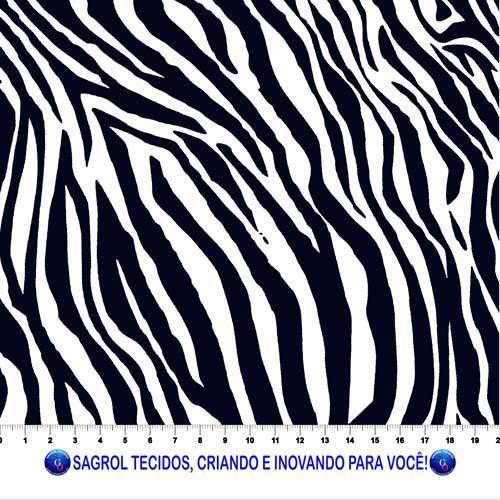 TECIDO TRICOLINE ESTAMPADA FERAS ANIMAL PRINT ZEBRA  100% ALGODÃO COM 1,50 LG